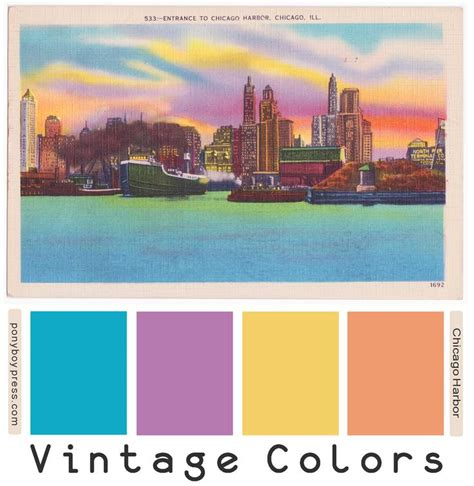 17 best images about vintage color palettes on arts crafts greetings and