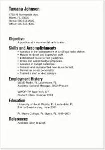 high school student resume exles for college