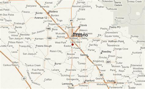 california map fresno fresno location guide