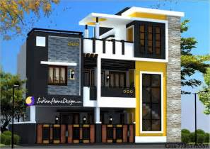 Designer Home Modern Contemporary Style Two Floor Chennai Home Design By