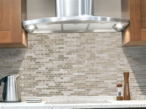 stick on kitchen backsplash tiles peel and stick glass tile backsplash no grout home