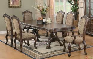 Dining Room Table Sets Andrea Cherry Finish Formal Dining Room Table Set
