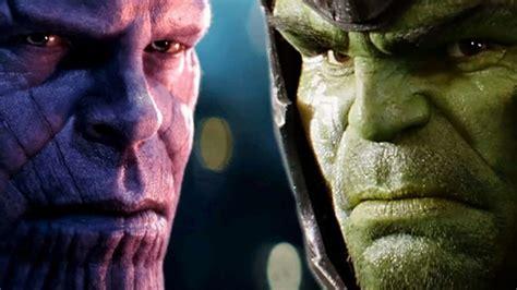 avengers infinity war senaristlerinden hulk ve thanos