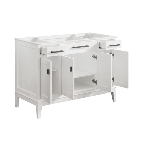 48 inch bathroom vanity cabinet only madison white 48 inch vanity only avanity vanities
