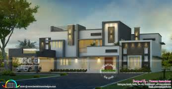 home design for 4 room flat 4 bedroom contemporary bungalow home kerala home design