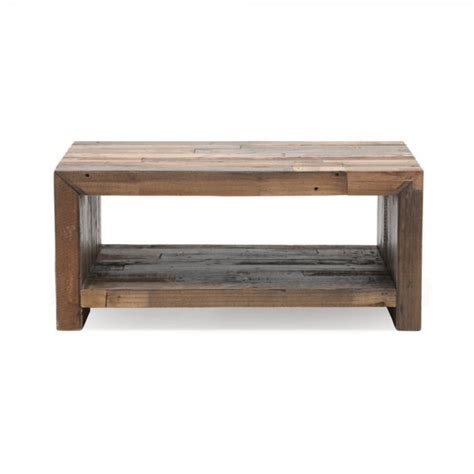 Small Coffee Tables Uk Buy Industrial Small Coffee Table Recycled Plank Living Furniture