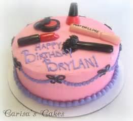 carisa s cakes a makeup birthday cake