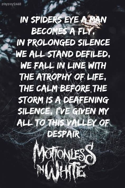 In White Quotes by Motionless In White Creatures Motionless In White