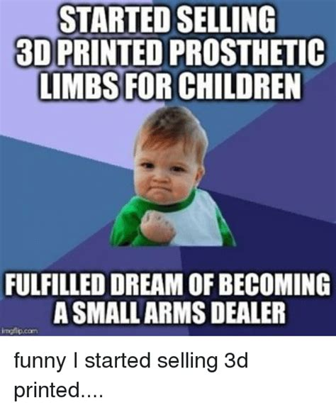 3d meme started selling 3d printed prosthetic limbs for children