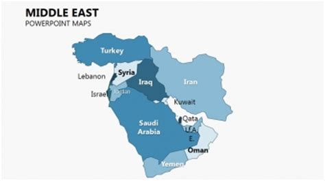 middle east map for powerpoint complete middle east powerpoint maps imaginelayout