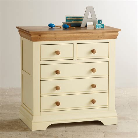 Chest Of Drawers For Nursery by Country Cottage Nursery Painted Chest Of Drawers In