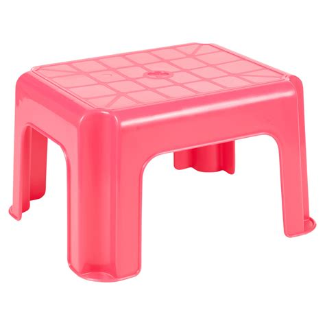 6 Foot Step Stool by Multi Purpose Sturdy Plastic Step Stool Stackable