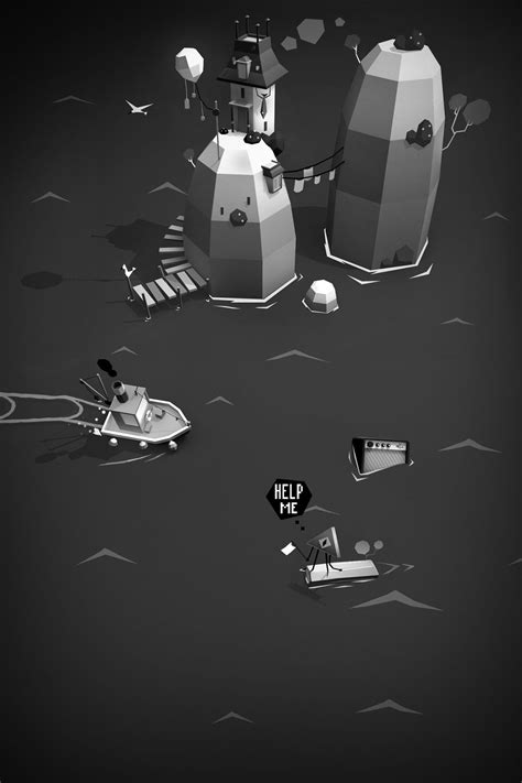 steam boat games steamboat poly indie game cartoon scene pinterest