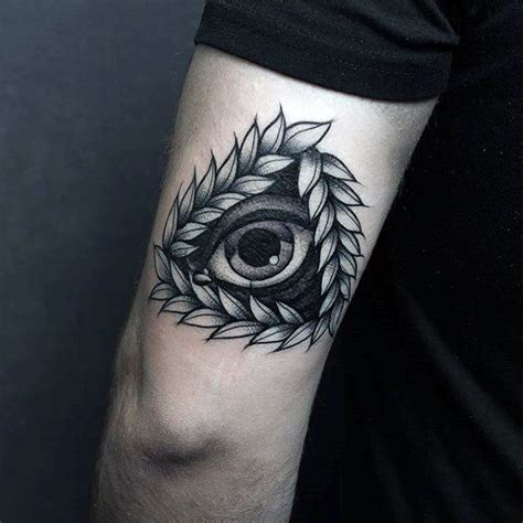 tattoo old school eye 60 eye of providence tattoo designs for men manly ink ideas