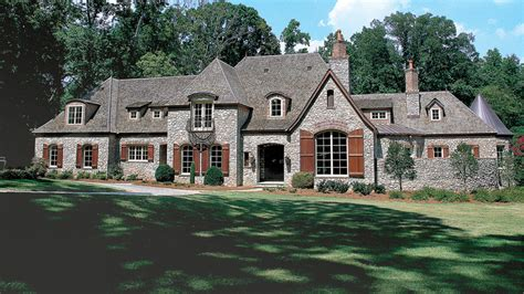 chateau home plans chateau style home designs from