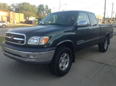 how make cars 2000 toyota tundra on board diagnostic system sell used 2000 toyota tundra sr5 extended cab pickup 4 door 4 7l looks runs great in cleveland