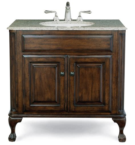 37 Inch Single Sink Bathroom Vanity With Counter Top 37 Bathroom Vanity