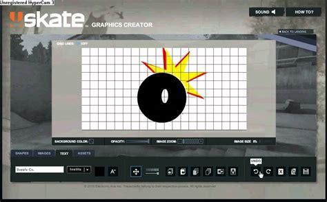 graphic creator skate 3 graphics creator