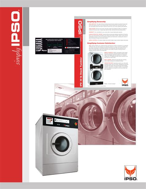 ipso washer washer user guide manualsonline