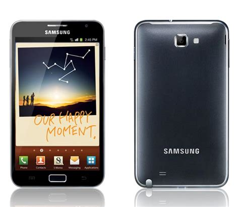 android note samsung galaxy note android phone gadgetsin