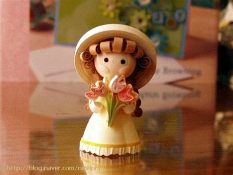 paper quilling doll tutorial 17 best images about quilled minatures 3d quilling on