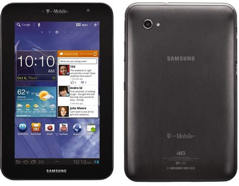 Samsung Tab Plus samsung galaxy tab 7 0 plus for t mobile available nov 16