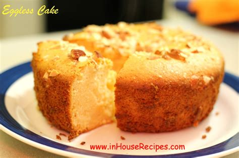 eggless cake eggless cake in oven or microwave convection अ ड रह त