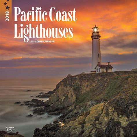 Pacific Coast Lighthouseswall Calendar 9781465090447