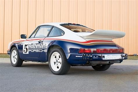 porsche rothmans 1983 porsche 911 scrs rothmans rally tribute german cars