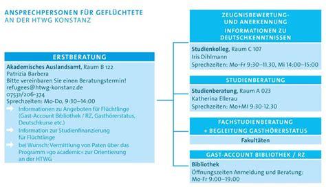 Htwg Konstanz Architektur Bewerbung Angebote F 252 R Gefl 252 Chtete Information For Refugees