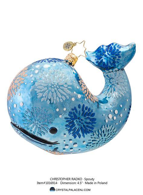 Radko Ornaments - christopher radko spouty ornament