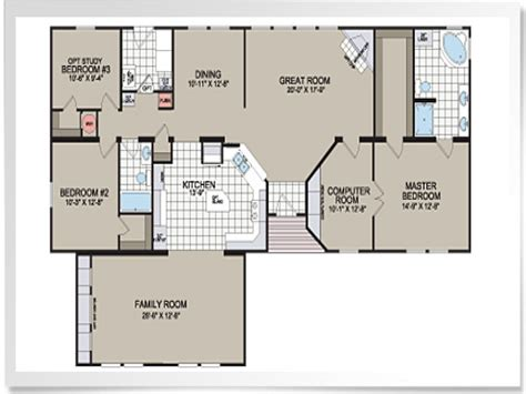 modular floor manufactured home plans and prices