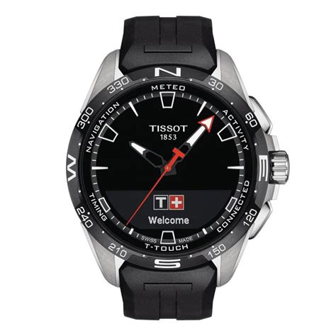 tissot  touch connect solar amj watches