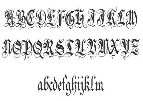 tattoo alphabet designs 12 cool lettering designs project 4 gallery