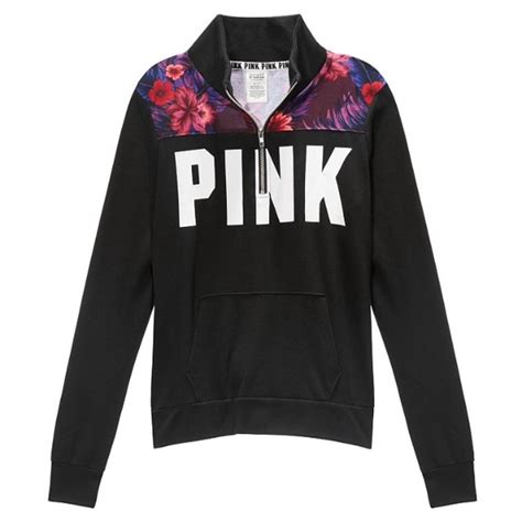 Sweater Black Pink 10 Pink S Secret Sweaters Pink Vs Quarter