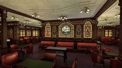titanic rooms titanic s class smoke room a brief tour