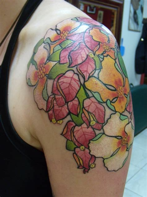 Flower Shoulder by Flower Tattoos Designs Ideas And Meaning Tattoos For You
