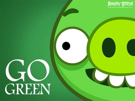 Goes Green With Jealousy by Go Green Bad Piggies Angry Birds And Envy