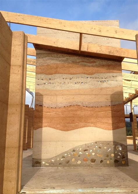 rammed up the 15 best images about rammed earth walls on