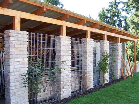 unterstand brennholz userprojekt garten balkon selbst de