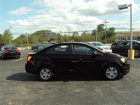 Used 2012 Chevrolet Sonic Ls For Sale 5 999 Executive