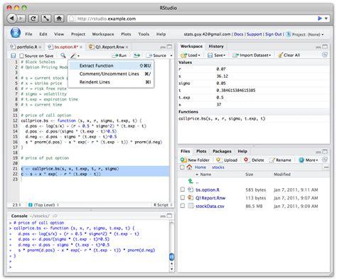 r studio editor theme rstudio ide features