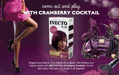 cranberry hair color cranberry cocktail hair colour inecto