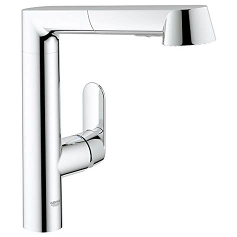 grohe k7 kitchen faucet grohe single handle pull out spray head kitchen faucet