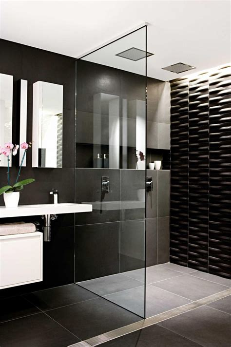 black bathroom ideas best 25 black bathrooms ideas on concrete
