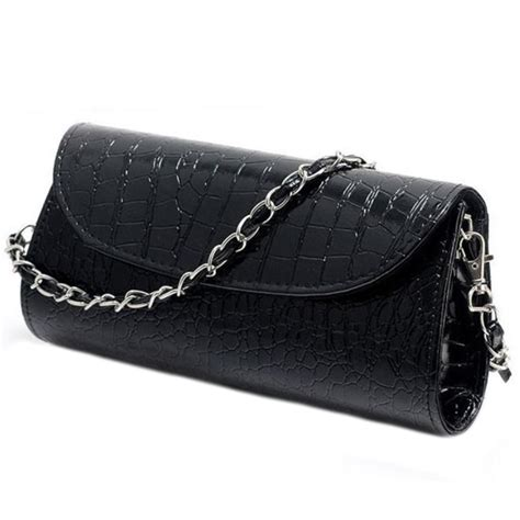 Crocodile Leather Messenger Crossbody Clutch Shoulder Handba brand clutch shoulder bag crocodile leather evening