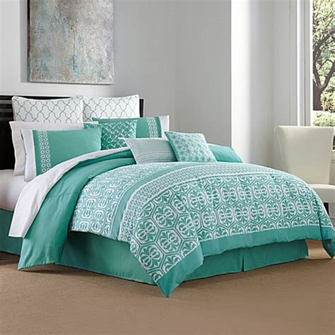 aqua and white comforter buy queen comforter sets from bed bath beyond