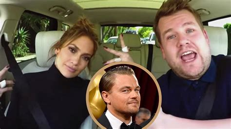 News Leo Tom And Jlo by Corden And Hilariously Text Leonardo