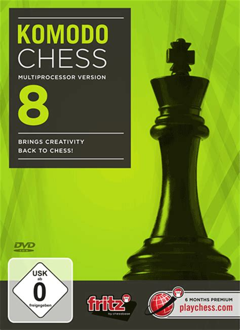 komodo  bringing creativity   chess chessbase