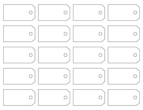 Label Tag Template printable price tag templates make your own price tag labels